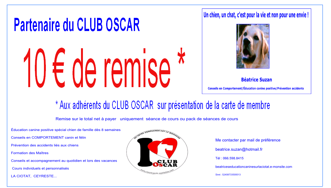 10 euros de REMISE