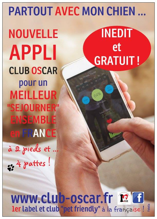 Logo application club oscar